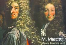 마시티의 '6개의 실내소나타 작품 2' 음반. 그림은 프랑스 화가 니콜라 라질리에르의 1696년작 '성 제네비 에브의 봉헌'에 등장하는 파리 고위관료들.