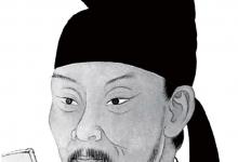 당나라 시인 두보의 초상. 그는 전쟁의 참혹함을 진지한 시선으로 그려낸 시인으로도 유명하다.