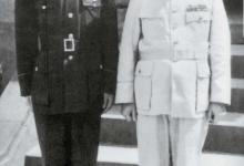 1 1945년 10월, 대만성 행정장관으로 타이베이에 부임한 천이(오른쪽).